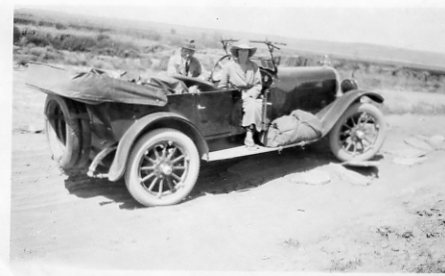 In 1922 Ken drove this couple from San Francisco to New York in his Oakland.
